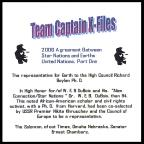 Team Captains X- File 2006 Agreement Between Star Nations