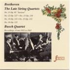 Late Beethoven's String Quartets