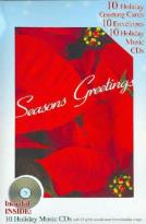 Seasons Greetings: 10 Holiday Greeting Cards, 10 Envelopes, 10 CD's