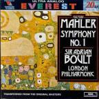 Mahler: Symphony no 1 / Adrian Boult, London Philharmonic