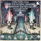 Handel: Music for the Royal Fireworks, etc / Pinnock
