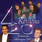 4 Artistas 20 Temas Merengue, Vol. 1