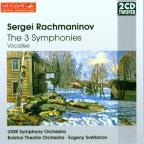 Rachmaninov: The 3 Symphonies, Vocalise / Evgeny Svetlanov
