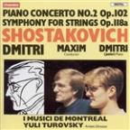 Shostakovich: Piano Concerto No. 2; Symphony for Strings