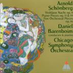 Arnold Schonberg: Verklarte Nacht; Piano Pieces Opp 11 & 19; Five Orchestral Pieces Op 16