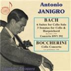 Bach: 6 Suites for Cello Solo; 3 Sonatas for Cello & Harpsichord; Boccherini: Cello Concerto