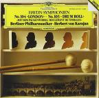 "Haydn: Symphony 104 ""London"" & 103 ""Drum Roll"" / Karajan"