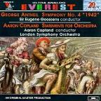 Antheil: Symphony no 4;  Copland: Statements for Orchestra