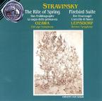 Stravinsky: Le sacre du printemps; Fireworks; The Firebird Suite
