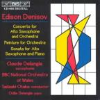 Denisov: Sonata for saxophone; Concerto for alto saxophone