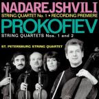 Zurab Nadarejshvili: String Quartet No. 1; Sergei Prokofiev: String Quartets Nos. 1 and 2