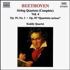 Beethoven: String Quartets , Vol. 4