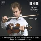 Tansman: Cinq Pieces; Violin Concerto; Suite Baroque