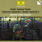 "Dvorak: String Quartet No. 12 ""American""; Tchaikovsky: String Quartet No. 1; Borodin: String Quartet No. 2"