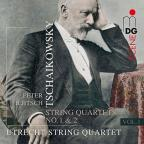 Tschaikowsky: String Quartets Vol. 1