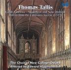 Tallis: Sacred Choral Music /Higginbottom, New College Choir