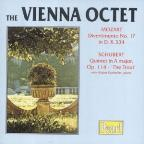"Mozart: Divertimento No. 12; Schubert: Quintet ""The Trout"""