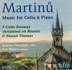 Martinu: Music for Cello & Piano