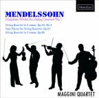 Mendelssohn: Complete Works for String Quartet, Vol. 1