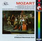 Mozart: Symphonies nos 29, 32, 33 / Groves, English Sinfonia