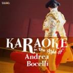 Karaoke - In The Style Of Andrea Bocelli