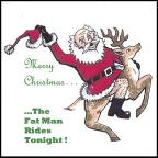 Merry Christmas, The Fat Man Rides Tonight