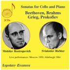 Beethoven, Brahms, Grieg, Prokofiev: Sonatas for cello & piano