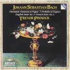 Bach: Chromatic Fantasia & Fugue, etc / Trevor Pinnock