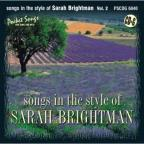 Karaoke: Sarah Brightman, Vol. 2