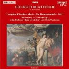 Buxtehude: Complete Chamber Music Vol 1 / Holloway, et al