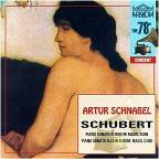 78S - Schubert: Piano Sonatas / Artur Schnabel