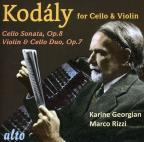 Kod&#225;ly for Cello &amp; Violin