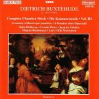 Buxtehude: Complete Chamber Music Vol 3 / Holloway, et al