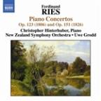 Ferdinand Ries: Piano Concertos Op. 123 (1806) &amp; Op. 151 (1826)