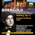 Erich Korngold: Much Ado About Nothing, Op. 11