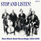 Stop and Listen! Rare Black Band Recordings 1923-1930