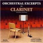 Orchestral Excerpts for Clarinet