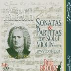 Bach: Sonatas & Partitas for Solo Violin, Vol. 1