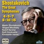 Shostakovich: The Great Symphonies