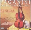 Paganini: Violin Concerto 1, Introduction And Variations