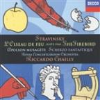 Stravinsky: The Firebird Suite, etc / Chailly, Concertbebouw