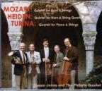 Mozart And Heiden: Horn Quartets; Turina: Piano Quartet