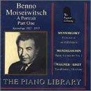Piano Library - Moiseiwitsch - A Portrait Part One