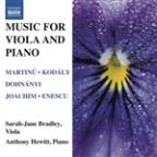 Music for Viola and Piano