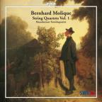 Bernard Molique: String Quartets, Vol. 1