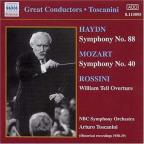 Haydn: Symphony No. 88; Mozart: Symphony No. 40; Rossini: William Tell Overture
