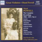 Powell/Pno - Falkenstein Vol. 4 - Maud Powell: The Complete Recordings