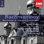 Rachmaninov: Piano Concertos Nos. 1-4; Rhapsody on a Theme of Paganini