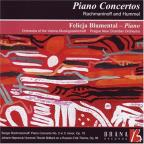 Piano Concertos by Rachmaninov and Hummel