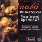 Vivaldi: The Four Seasons; Violin Concerti Op. 3 Nos. 6 & 8
